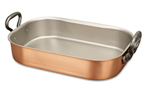 copper roasting pan falk copper cookware contact us 2584