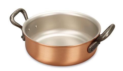 falk culinair classical 16cm copper rondeau