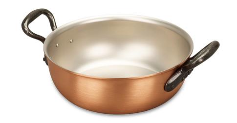 falk culinair classical 20cm copper stew pan