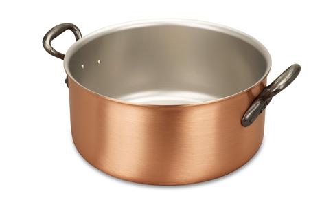 falk culinair classical 24cm copper casserole