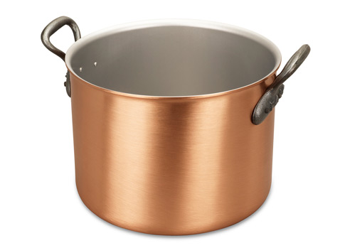 falk culinair classical 24cm copper cauldron