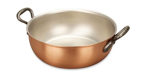 falk culinair classical 24cm copper stew pan