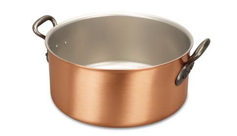 falk culinair classical 28cm copper casserole