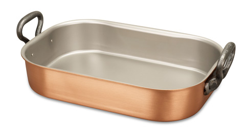 falk culinair classical 35cm x 23cm copper roasting pan