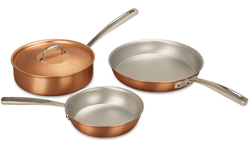 Falk Copper Sizzler Set