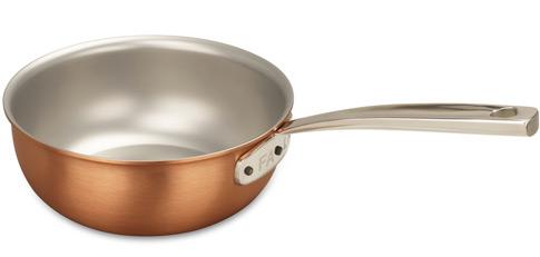 falk culinair 18cm copper saucier pan