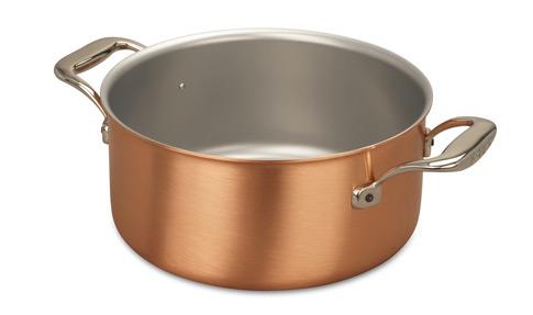 falk culinair 24cm copper casserole