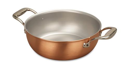 falk culinair 24cm copper stew pan