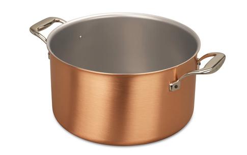 falk culinair 28cm copper cauldron