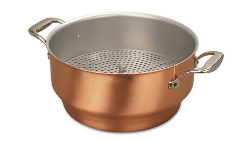 falk culinair 28cm copper steamer