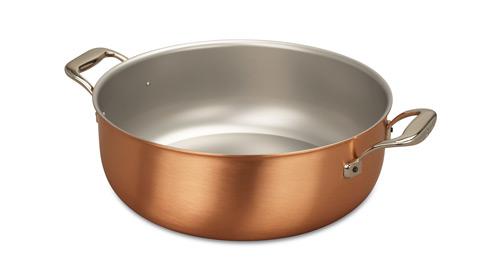 falk culinair 32cm copper stew pan