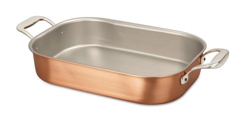 falk culinair 35cm x 23cm copper roasting pan