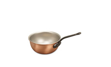 Classical Range 14cm Copper Saucier Pan