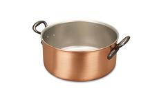 Classical Range 24cm Copper Casserole