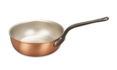 Classical Range 24cm Copper Saucier Pan