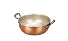 Classical Range 24cm Copper Stew Pan