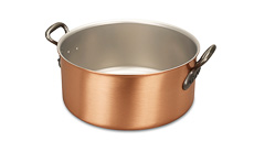 Classical Range 28cm Copper Casserole