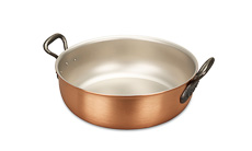 Classical Range 28cm Copper Stew Pan