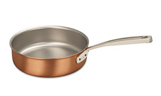 Signature Range 24cm Copper Saute Pan