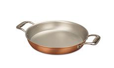 Signature Range 28cm Round Copper Au Gratin Pan