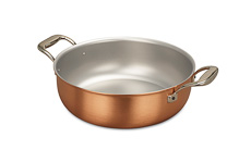 Signature Range 28cm Copper Stew Pan