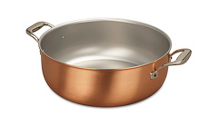 Signature Range 32cm Copper Stew Pan