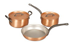 Copper Cookware Sets Falk Copper Cookware