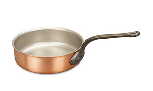 Classical Range 24cm Copper Saute Pan