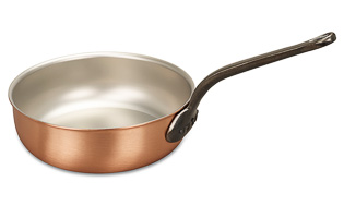 Classical Range 28cm Copper Saucier Pan