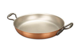 Classical Range 32cm Copper Paella Pan
