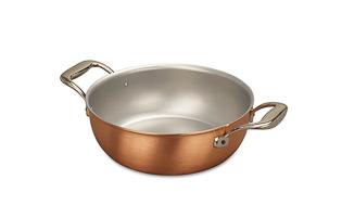 Signature Range 24cm Copper Stew Pan