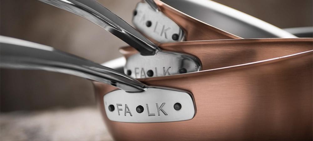 Falk Copper Cookware - Signature Range