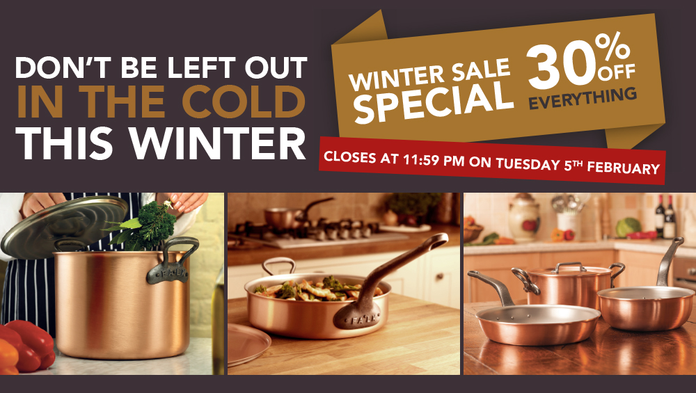 Falk Culinair Winter Clearance sale - Save 30%