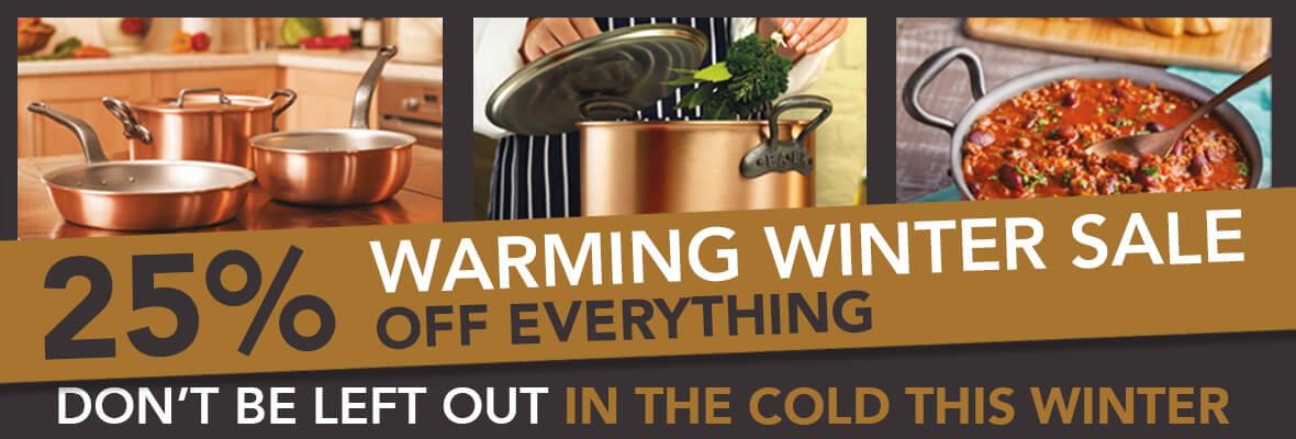 Falk Culinair Winter Clearance sale - Save 25%