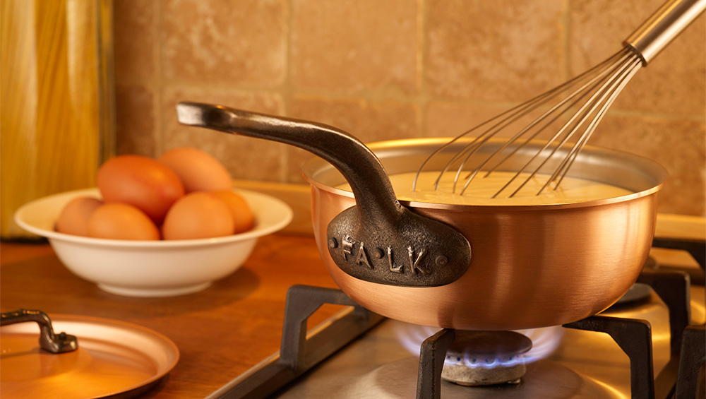Falk Copper Cookware Now Available Directly From Our Factory