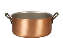 24cm Copper Casserole