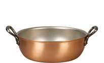 24cm Copper Stew Pan