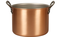 28cm Copper Cauldron