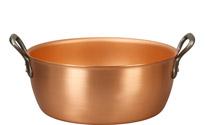 28cm Copper Jam Pot