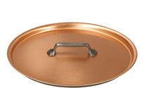 28cm Copper Saute Pan With Helper Handle Falk Culinair Uk
