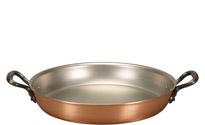Falk 28cm Round Copper Au Gratin Pan