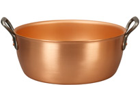 Falk 32cm Copper Jam Pot