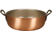 32cm Copper Stew Pan