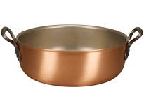 Falk 32cm Copper Stew Pan