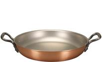 32cm Round Copper Au Gratin Pan