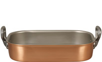 35 x 23cm Copper Roasting Pan