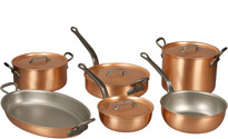 Falk Copper Chef's Set