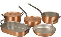 Falk Copper Gourmet Set